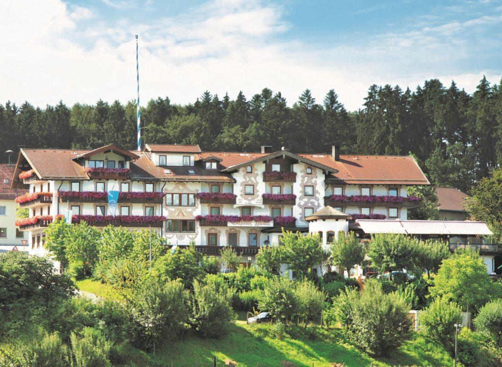 Hotel Gasthof Huber Aussenansicht